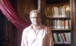 Enrique Rivero en la Casa América de Madrid